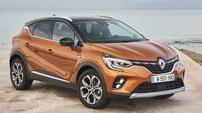 Příčníky Renault Captur 2020- s integrovanými podélníky