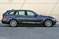 Příčníky BMW 3 Touring 12- s integrovanými podélníky Alu tyče