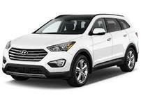 Příčníky Hyundai Santa Fé 2013- s integrovanými podélníky