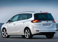 Příčníky Opel Zafira 2011 - integrované podélníky Aero tyče