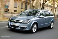 Příčníky Opel Astra combi 2004- - integrované podélníky Aero tyče