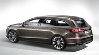 Příčníky Ford Mondeo Combi 13- s int. podélníky Alu provedení