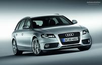 Příčníky Audi A4 Avant 08- s integrovanými podélníky Alu tyče black