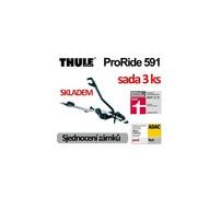 Nosič kol Thule ProRide 591 sada 3ks
