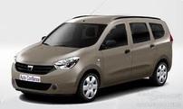 Příčníky Dacia Dokker 12- s podélníky