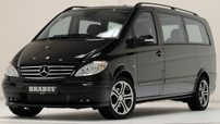 Příčníky Mercedes-Benz Viano 15- s podélníky