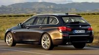 Příčníky BMW 5 Touring 2010- s integrovanými podélníky Wing bar evo