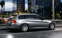 Příčníky BMW 3 Touring 10-11 s integrovanými podélníky Wingbar evo