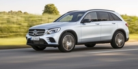 Příčníky Mercedes-Benz GLC 15- s integrovanými podélníky Wingbar Evo
