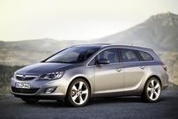 Příčníky Opel Astra Sports Tourer 10-16 s integrovanými podélníky Wingbar Evo