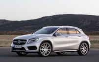 Příčníky Mercedes-Benz GLA 14- s integrovanými podélníky Wingbar Evo