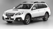 Příčníky Subaru Outback 14- s integrovanými podélníky Wingbar evo