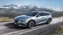 Příčníky Opel Insignia Country Tourer 2018- s integrovanými podélníky Wingbar Evo