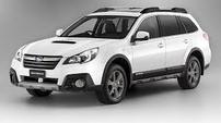 Příčníky Subaru Outback 14- s integrovanými podélníky