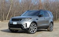 Příčníky Land Rover Discovery V 2017- integrované podélníky