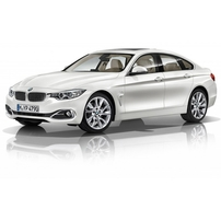 Příčníky BMW 4 Gran Coupé 14- s pevnými body Alu tyče