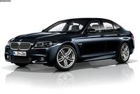 Příčníky BMW 5 sedan 2010- Alu tyče