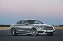 Příčníky Mercedes-Benz C-klasse Coupe 16- s pevnými body