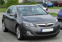 Příčníky Opel Astra 10- s pevnými body