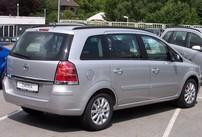 Příčníky Opel Zafira 05-06 integrované podélníky
