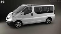 Příčníky Opel Vivaro VAN s pevnými body 01-14