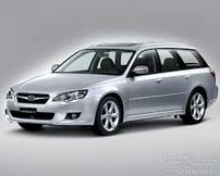 Příčníky Subaru Legacy kombi 03-09 Aero