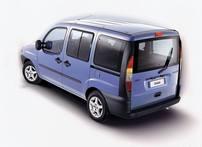 Příčníky Fiat Doblo 00-09 s pevnými body AERO
