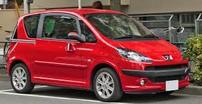 Příčníky Peugeot 1007 05-09