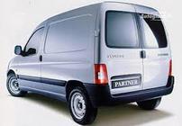 Příčníky Peugeot Partner 97-07 s pevnými body