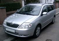 Příčníky Toyota Corolla kombi 02-06 s podélníky