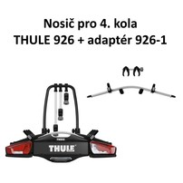Thule VeloCompact 926 + adaptér 926-1 pro 4 kola + DÁREK