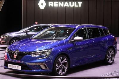 Příčníky Renault Mégane IV Kombi 2016-  Integrované podélníky Alu tyčce
