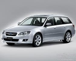 Příčníky Subaru Legacy kombi 03-09